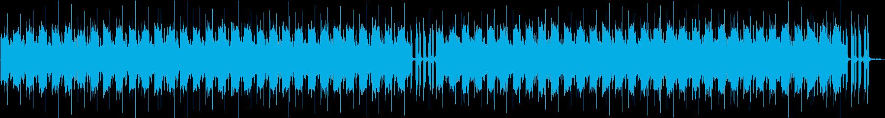 Chill Music レゲエ、ダブ風味の再生済みの波形