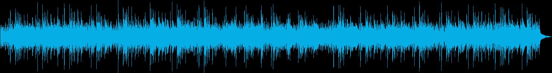 睡眠、YOGA、映像、癒しピアノの再生済みの波形