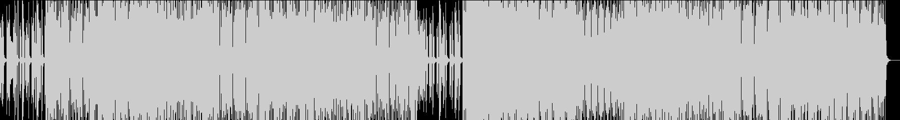 オシャレで華やか!都会的なBGMの未再生の波形