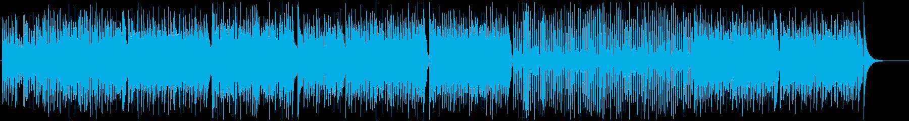 心躍る軽快のどかなフルートポップ♫の再生済みの波形
