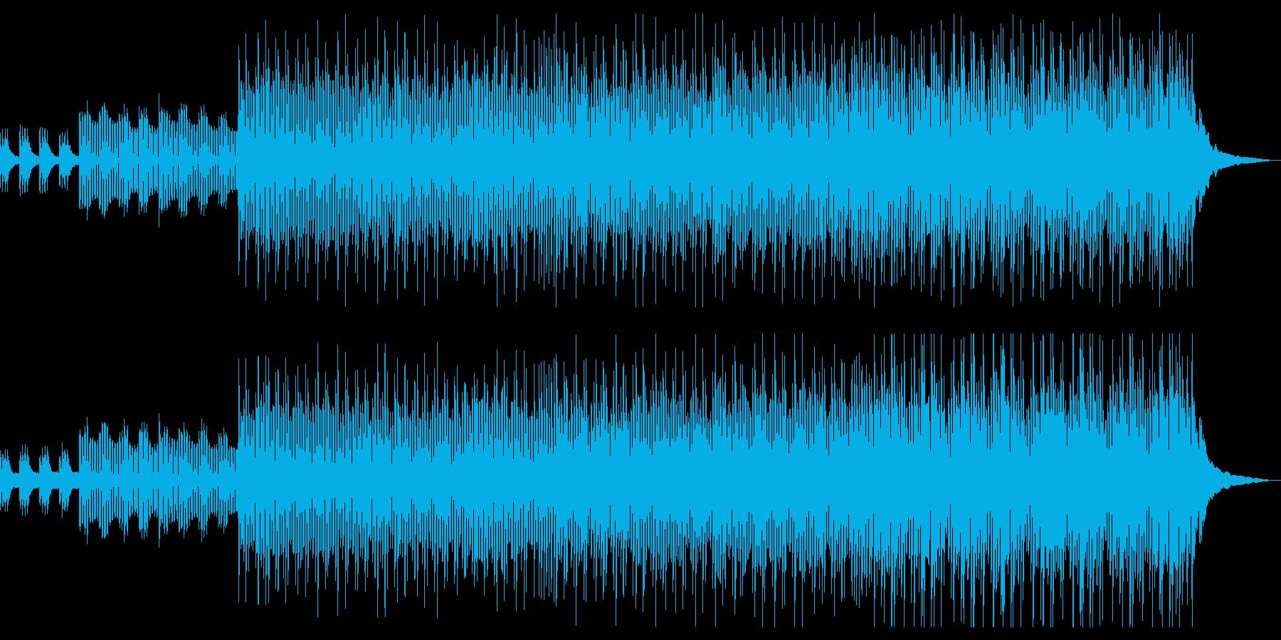 明るくて爽やか、コンセプトムービー向けの再生済みの波形