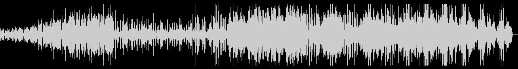 軽快なストリングス曲の未再生の波形