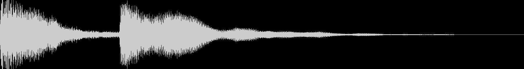 シンプルなジングル【ピアノ】その11ですの未再生の波形
