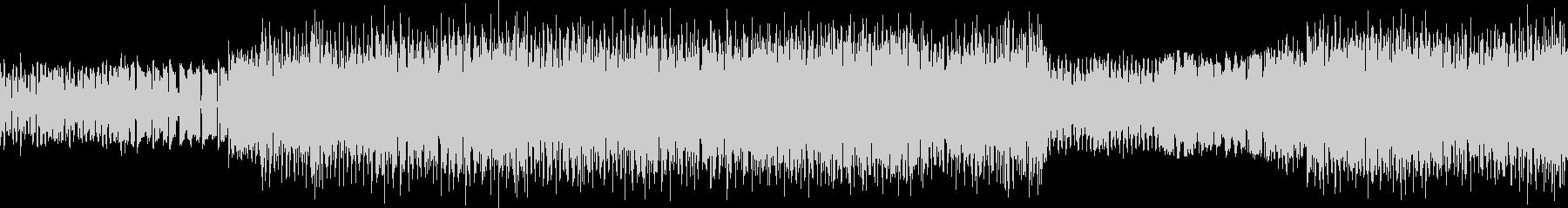 ファミコン風のインスト曲の未再生の波形