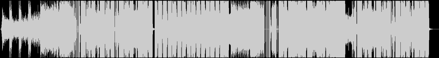 ギターサウンドを取り入れたDubStepの未再生の波形