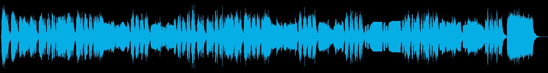 クラシック ハレルヤ パイプオルガンの再生済みの波形
