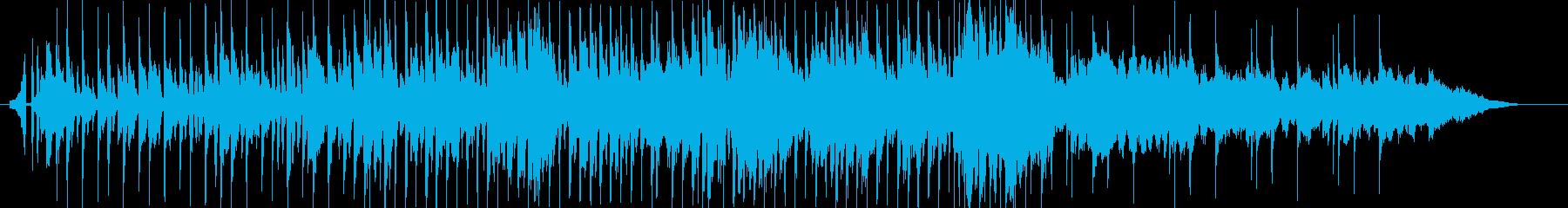 爽やかで懐かしい懐メロソングの再生済みの波形