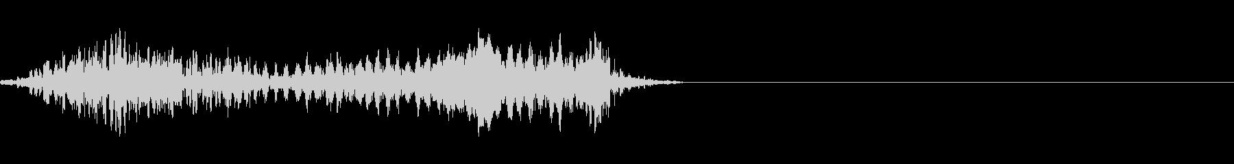 モンスターの発声に 7の未再生の波形
