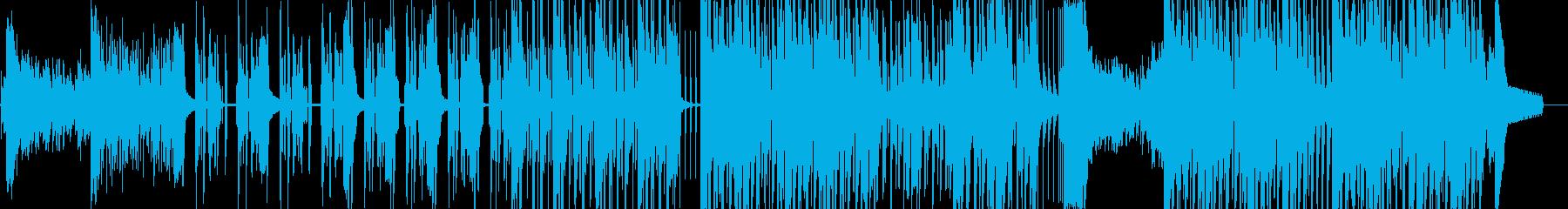 スリラー・民族ダークヒップホップ 短尺★の再生済みの波形