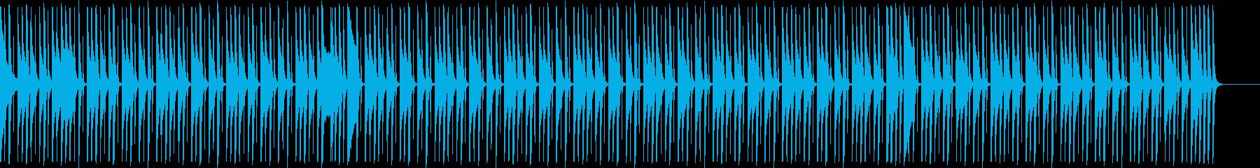 軽快テクノポップ♪楽しいコミカル♪アニメの再生済みの波形