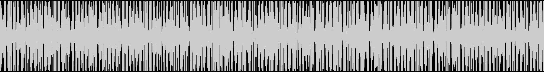 ラテンダンスインストゥルメンタルの未再生の波形
