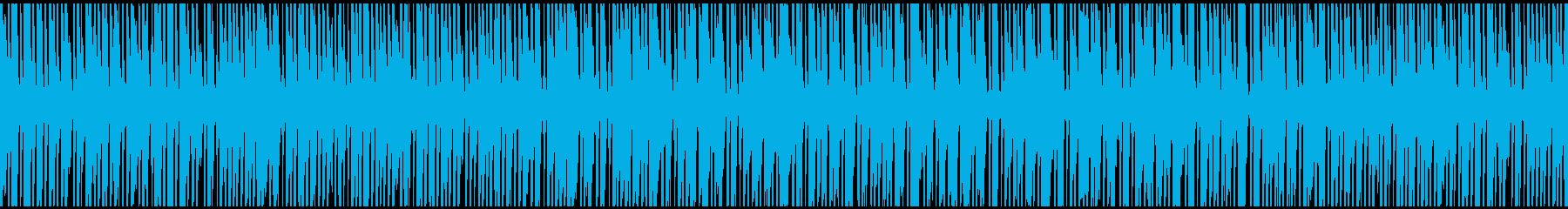 ラテンダンスインストゥルメンタルの再生済みの波形