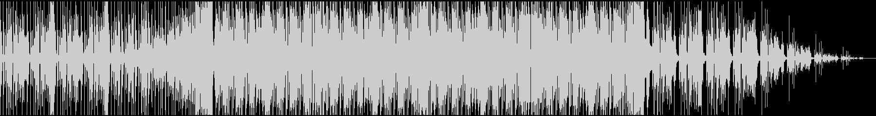 ノリノリなフィルターハウスの未再生の波形