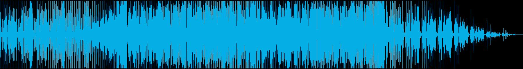 ノリノリなフィルターハウスの再生済みの波形