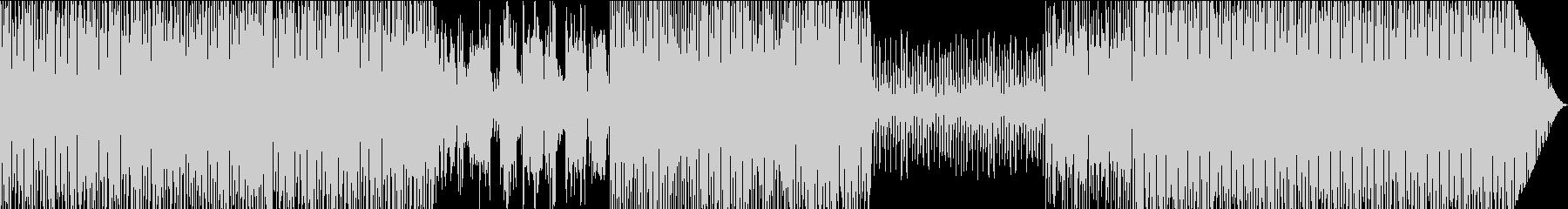 明るいUSAサウンドの未再生の波形