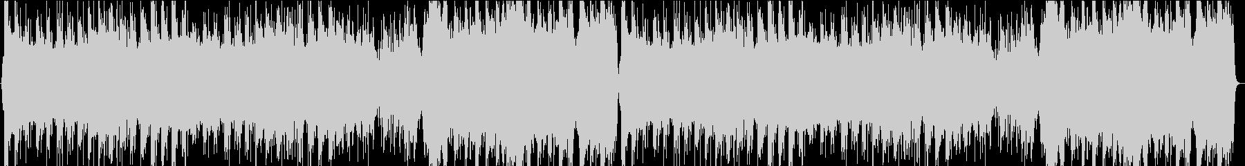 中華風の優雅なBGMの未再生の波形