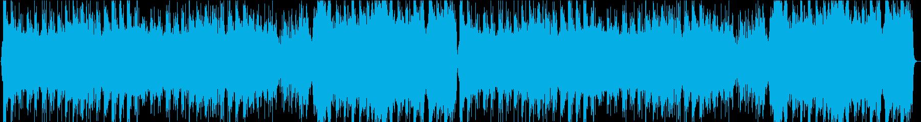 中華風の優雅なBGMの再生済みの波形