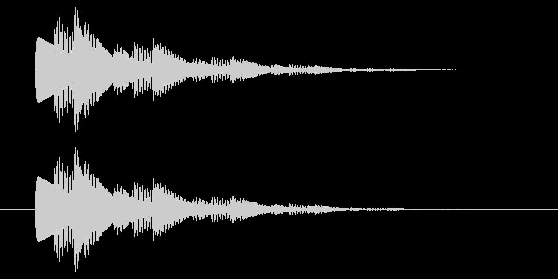 SNES-アクション01-22(選択)の未再生の波形