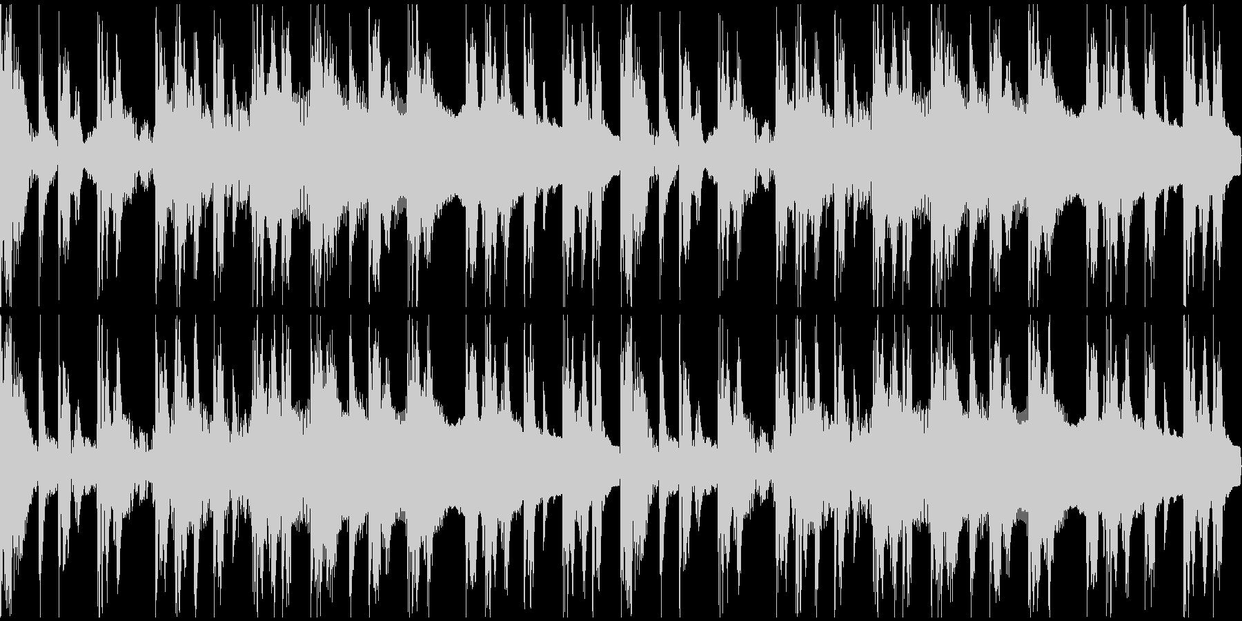 【エレクトロニカ】ロング3、ジングル1の未再生の波形