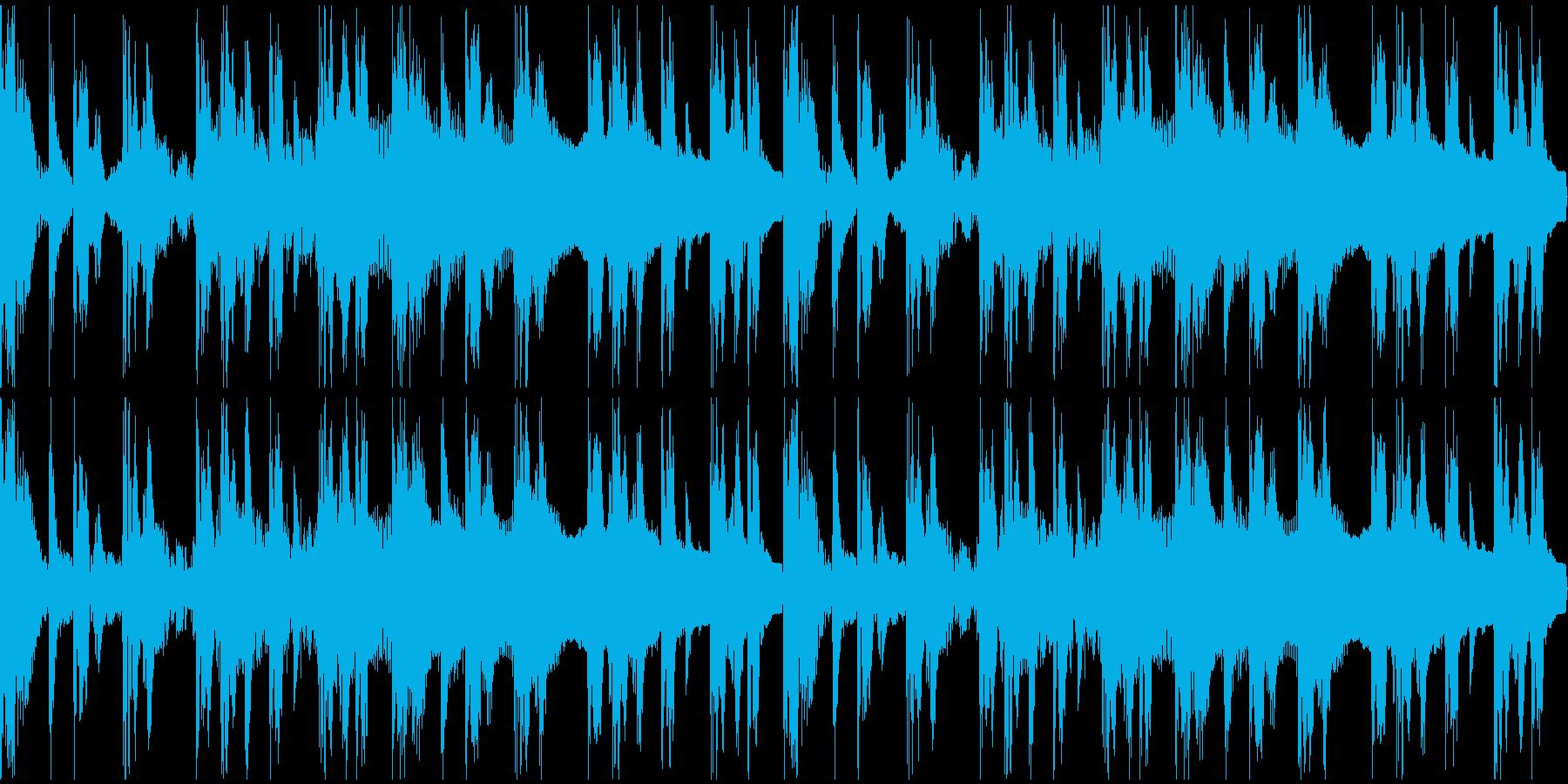 【エレクトロニカ】ロング3、ジングル1の再生済みの波形
