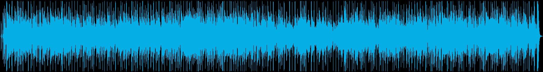 ジャズバンドで演奏されたポジティブ...の再生済みの波形