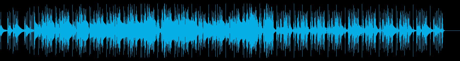 ピアノにTRAPビートの再生済みの波形