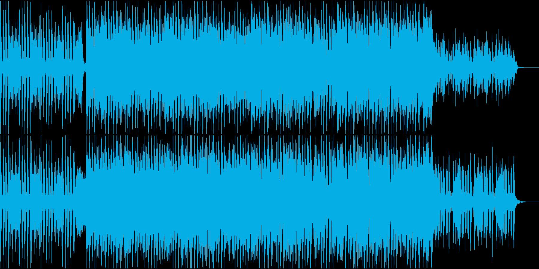 優雅で明るい4つ打ちBGM(通常盤)の再生済みの波形