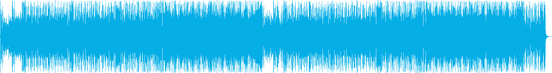 楽しくなる爽やかなフュージョン系BGMの再生済みの波形