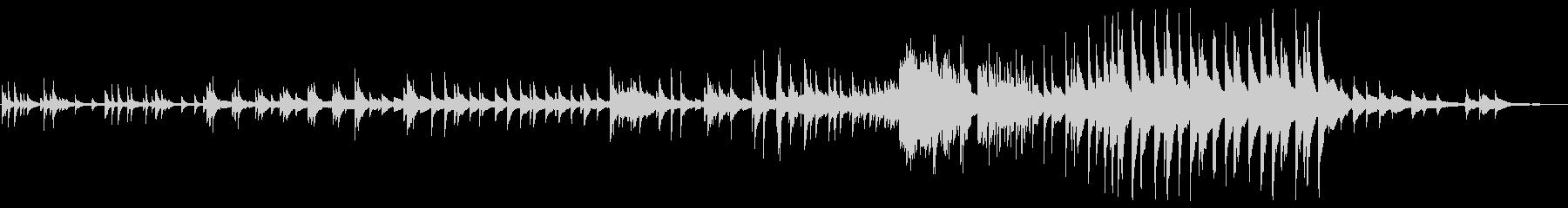 アンハッピーエンディング ■ ピアノソロの未再生の波形