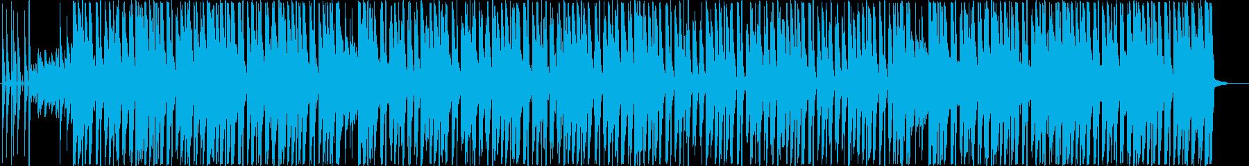 明るくかわいい R&B HIPHOPの再生済みの波形