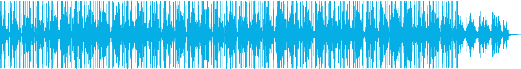 Lofi Hiphop ピアノ 穏やかの再生済みの波形