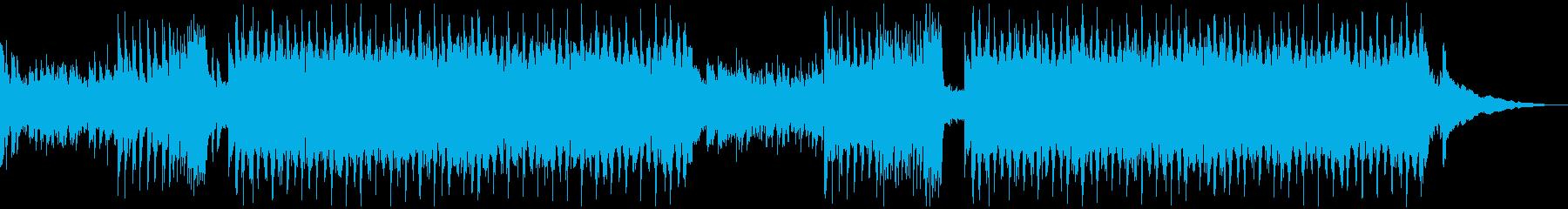 夏! ギターカッティングトロピカルハウスの再生済みの波形