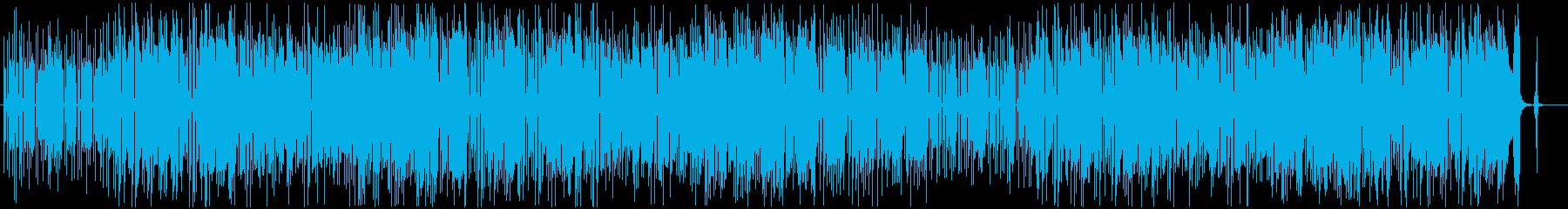サックスとギターのブルージーなポップスの再生済みの波形