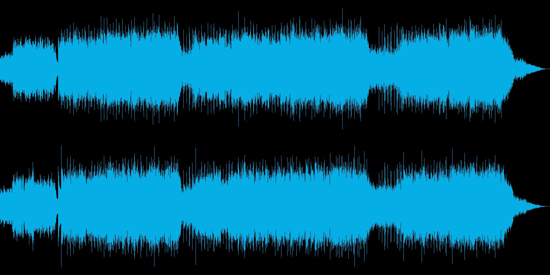 生演奏チェロのキラキラ爽やかポップスの再生済みの波形
