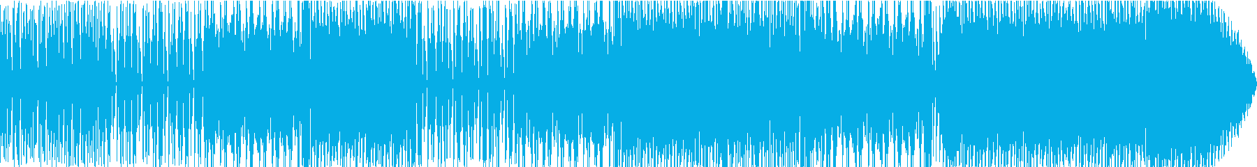 アップテンポでノリの良いファンクロックの再生済みの波形