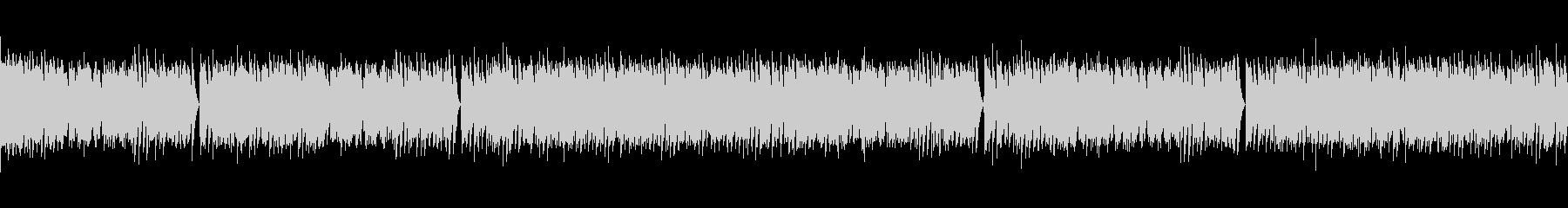メイプルリーフラグ ピアノ(2)の未再生の波形