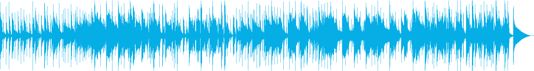 コロナ終息を願っての穏やかな曲の再生済みの波形