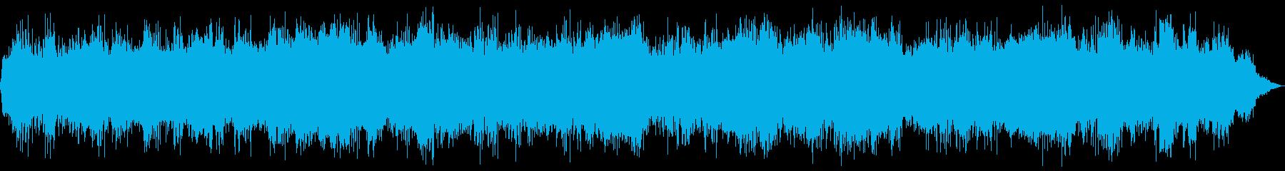 サスペンスフルフラタリングドローン...の再生済みの波形