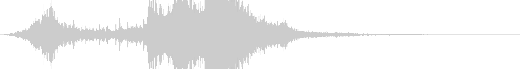 RPG系魔法イメージ音04 水の未再生の波形