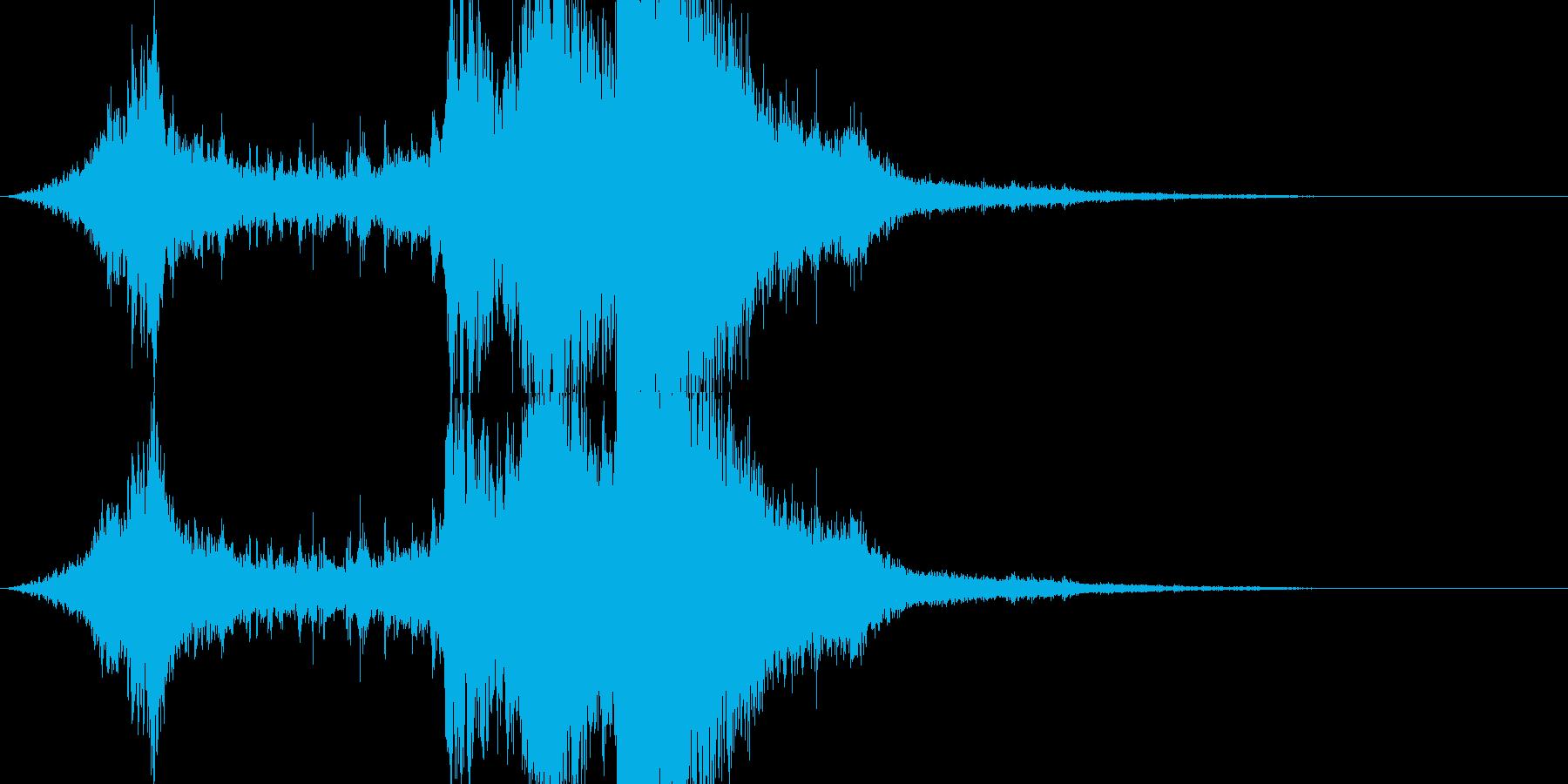 RPG系魔法イメージ音04 水の再生済みの波形