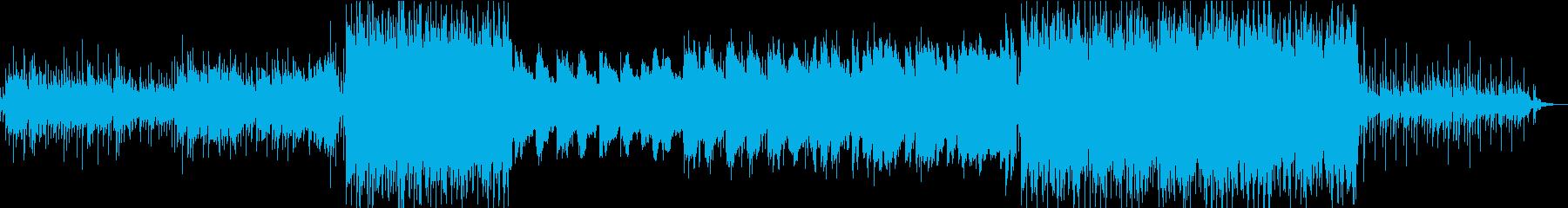 夏の花火の夜のLo-Fi Hip Hopの再生済みの波形
