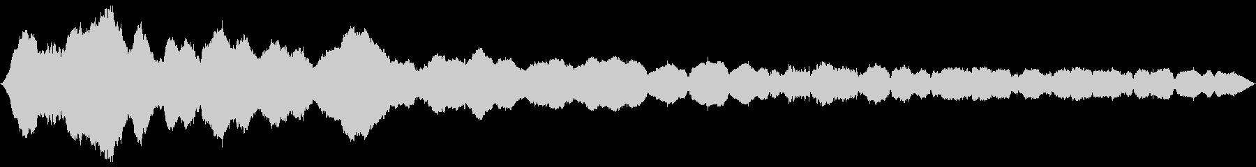 低シンセドローン:光変調、低周波宇...の未再生の波形