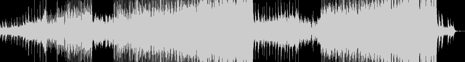 以前の歌トラックをChops使用の未再生の波形