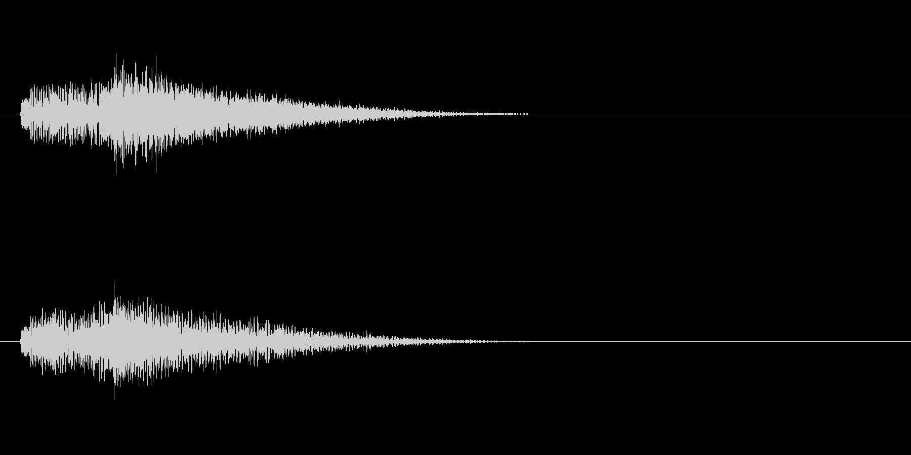 テーマ32:スティンガーの未再生の波形
