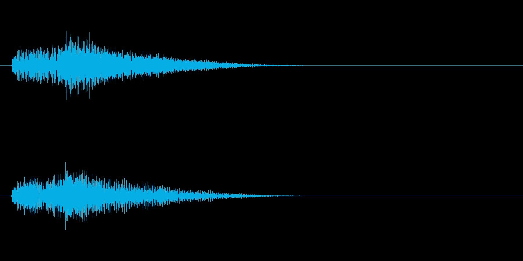 テーマ32:スティンガーの再生済みの波形