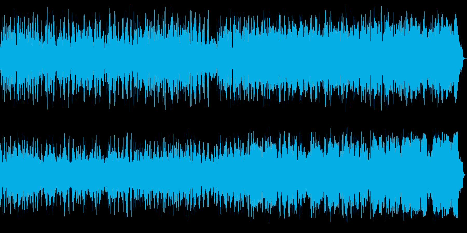 ピアノ中心の哀愁感あるメロディアスワルツの再生済みの波形