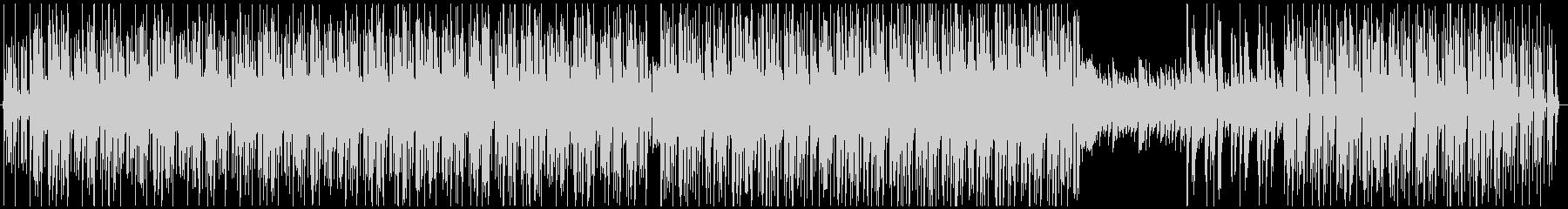 キュートでエレクトロなボサノバ風ラウンジの未再生の波形