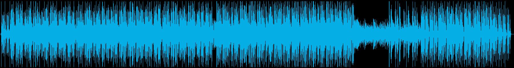 キュートでエレクトロなボサノバ風ラウンジの再生済みの波形