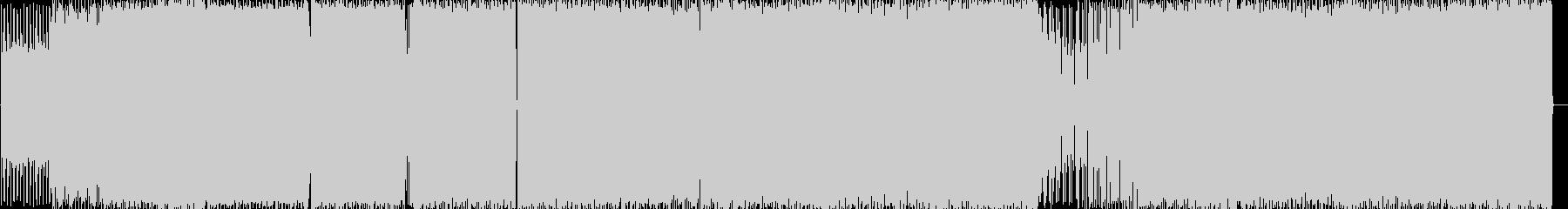 和テイストのメロディのエレクトロニカの未再生の波形