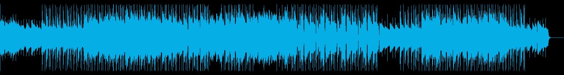 ゆったりとしたHIPHOPの再生済みの波形